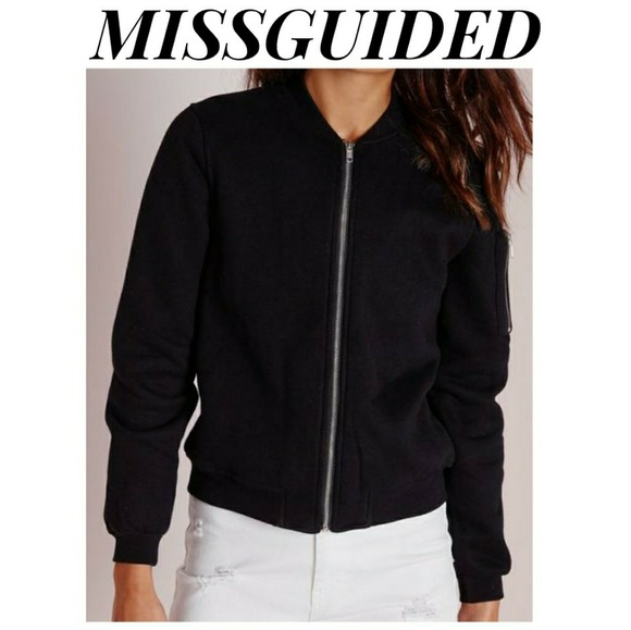 dd69f533882  MISSGUIDED  Ponte Bomber Jacket
